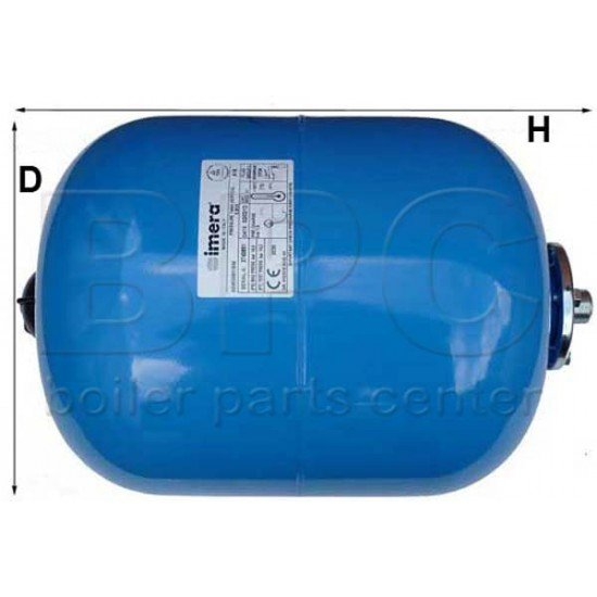 24 Litre Potable Expansion Vessel For Domestic Hot Water Systems